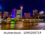 toronto  canada   january 18...   Shutterstock . vector #1090200719