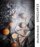 top view of assortment of... | Shutterstock . vector #1090214915