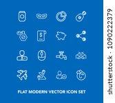 modern  simple vector icon set...   Shutterstock .eps vector #1090222379