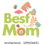 A Very Cute Card Says Best Mom