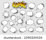set of cartoon comic speech... | Shutterstock .eps vector #1090334534