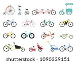 set of icons representing... | Shutterstock .eps vector #1090339151