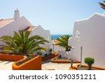 holyday summer time. white...   Shutterstock . vector #1090351211