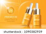 hydrating facial serum for... | Shutterstock .eps vector #1090382939