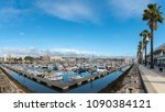 lagos  portugal   circa may... | Shutterstock . vector #1090384121