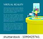 virtual reality people in vr...