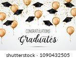 graduation class of 2018.... | Shutterstock .eps vector #1090432505