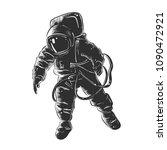 engraved style illustration for ... | Shutterstock . vector #1090472921