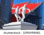 yekaterinburg  russia may 13 ... | Shutterstock . vector #1090498481