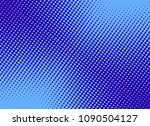 retro comic blue background... | Shutterstock .eps vector #1090504127