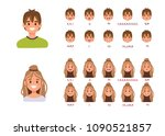 lip sync collection for... | Shutterstock . vector #1090521857