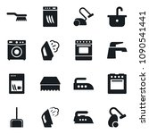 set of simple vector isolated... | Shutterstock .eps vector #1090541441