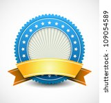 modern badge | Shutterstock .eps vector #109054589