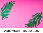 creative summer trendy... | Shutterstock . vector #1090553687