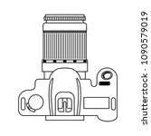 photographic camera device... | Shutterstock .eps vector #1090579019