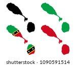 saint kitts and nevis   Shutterstock .eps vector #1090591514