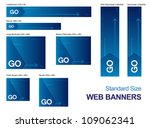 standard size web banners...