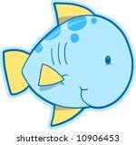 happy fish vector illustration | Shutterstock .eps vector #10906453
