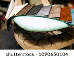 view at chair repairing in the... | Shutterstock . vector #1090650104