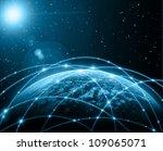 best internet concept of global ... | Shutterstock . vector #109065071