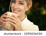 lifestyle and people concept ... | Shutterstock . vector #1090656434