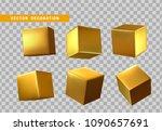 design element set in shape of... | Shutterstock .eps vector #1090657691