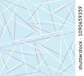 geometric art random... | Shutterstock .eps vector #1090659359