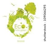 illustration environmentally... | Shutterstock . vector #109066295