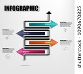 vector illustration of creative ... | Shutterstock .eps vector #1090670825
