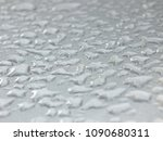 Small photo of Drops on the page along the national road abounding abstract with white background.