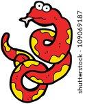 cartoon snake | Shutterstock . vector #109069187