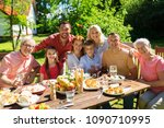 leisure  holidays and people...   Shutterstock . vector #1090710995