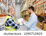 wholesale  logistic business...   Shutterstock . vector #1090715825