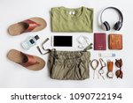 men's casual outfits  clothes... | Shutterstock . vector #1090722194