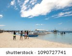 bohol  philippines may 24 2018  ...   Shutterstock . vector #1090727741