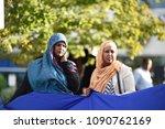 mississauga august 25  somali... | Shutterstock . vector #1090762169