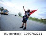 mississauga august 25  an... | Shutterstock . vector #1090762211