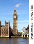 big ben in london | Shutterstock . vector #109076501