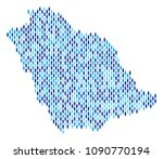 population saudi arabia map.... | Shutterstock .eps vector #1090770194