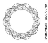 vector abstract doodle elements ... | Shutterstock .eps vector #1090770785
