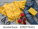 womens clothing  accessories ... | Shutterstock . vector #1090774421