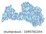 population latvia map.... | Shutterstock .eps vector #1090781354