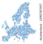 population european union map.... | Shutterstock .eps vector #1090787957