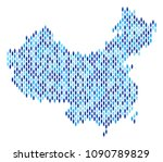 population china map.... | Shutterstock .eps vector #1090789829