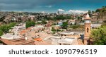 panorama of tbilisi old town ... | Shutterstock . vector #1090796519