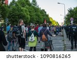 rostock  germany   may 14  2018 ... | Shutterstock . vector #1090816265