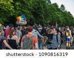 rostock  germany   may 14  2018 ... | Shutterstock . vector #1090816319
