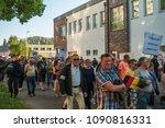 rostock  germany   may 14  2018 ... | Shutterstock . vector #1090816331