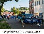 rostock  germany   may 14  2018 ... | Shutterstock . vector #1090816355