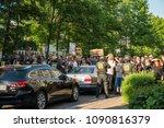 rostock  germany   may 14  2018 ... | Shutterstock . vector #1090816379